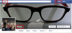 first name only in facebook