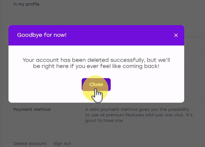 Premium deactivate badoo How to
